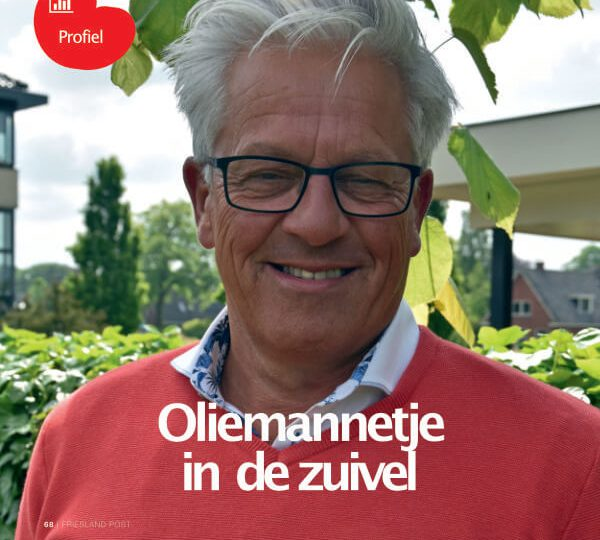 Oliemannetje in de Zuivel: interview met Wietze in Friesland Post