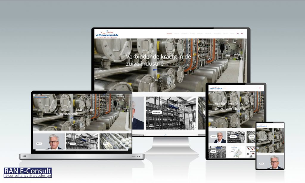 Jongsma Engineering Solutions website