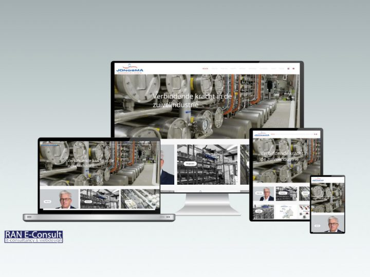 Website Jongsma Engineering Solutions geheel vernieuwd!